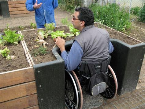 Gardening Needs The Terraform Raised Garden Bed Helps The Wheelchair Bound