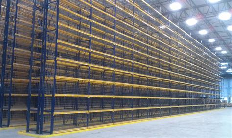 warehouse bay layout selective pallet racks warehouse design