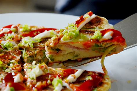 how to make a how to make okonomiyaki 4 steps with pictures wikihow