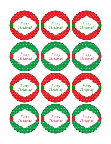 Christmas Labels Christmas Label Templates Merry Tags Template