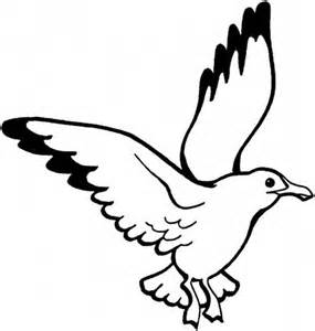 seagull coloring page free coloring pages on art