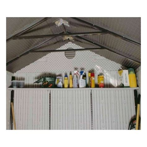 Shed Accessories by Lifetime 90 Inch Shelf Accessory Kit For 8 Ft Sheds 0150