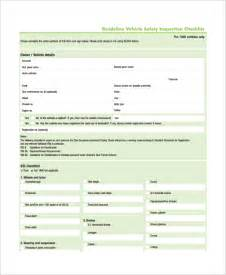 office safety inspection checklist template safety inspection checklist template rachael edwards