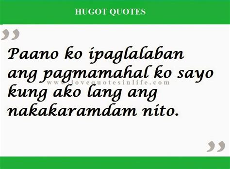 Hugot Quotes Hugot Tagalog Quotes Quotesgram Five Hugot Quotes