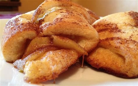 crescent roll recipes easy apple crescent rolls recipe kitchenability 101