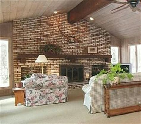 Large Brick Fireplace by I Need Advice For Updating A Large Brick Fireplace