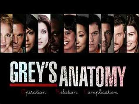 song grey s anatomy grey s anatomy theme song