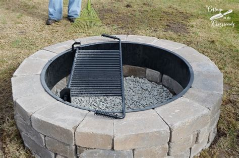 our new belgard outdoor pit cottage at the crossroads