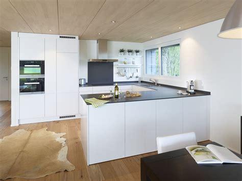 küche u form weisse hochglanz k 252 che