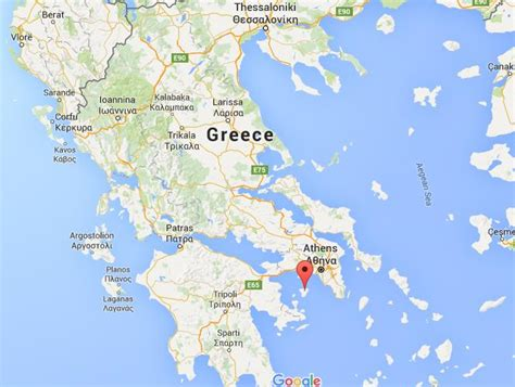 map world greece where is egina on map greece world easy guides