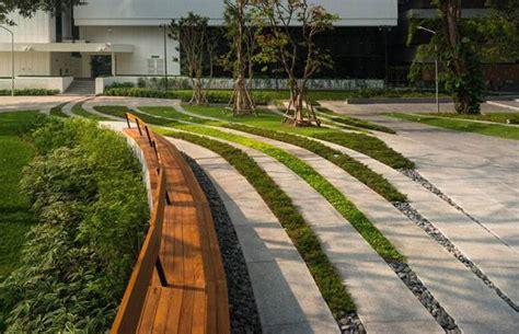 design lab bangkok landscape architecture successfully unites the scg