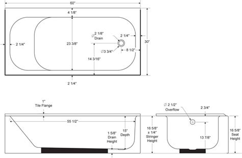 Standard Bathtub Sizes standard size of bathtub crowdbuild for