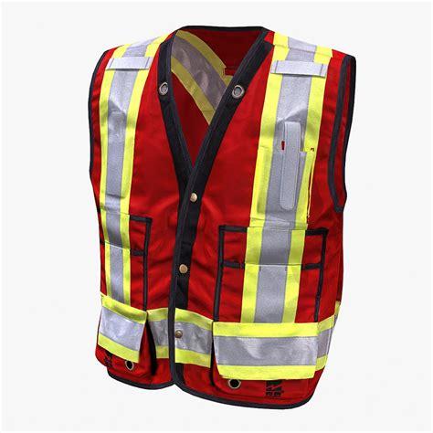 Rompi Safety Vest safety vest 3d model
