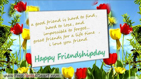 friend greetings free happy friendship day greeting cards ecards