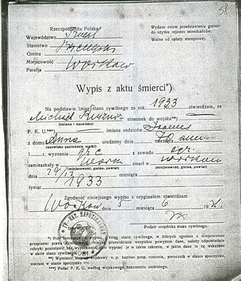 Poland Birth Records Halgal Genealogy Of Halychyna Eastern Galicia