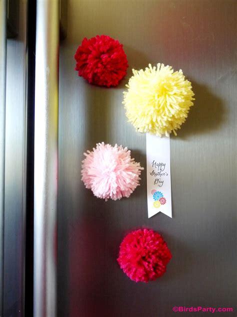 Handmade Fridge Magnets Ideas - cadeaux diy pour la f 234 te des m 232 res on bricole avec des