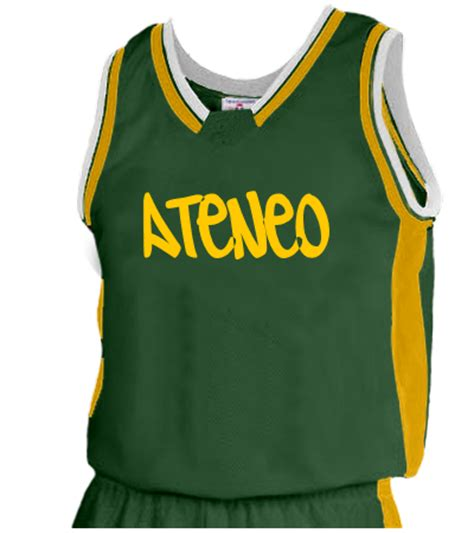 jersey design ateneo ateneo adult basketball jersey jammer series