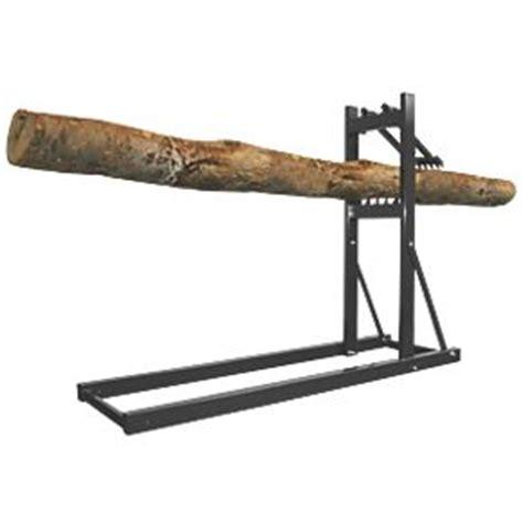 screwfix bench roughneck loggers mate 24cm log capacity log saw horse