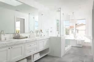 master bathroom white white master bathroom with gray tiled floors