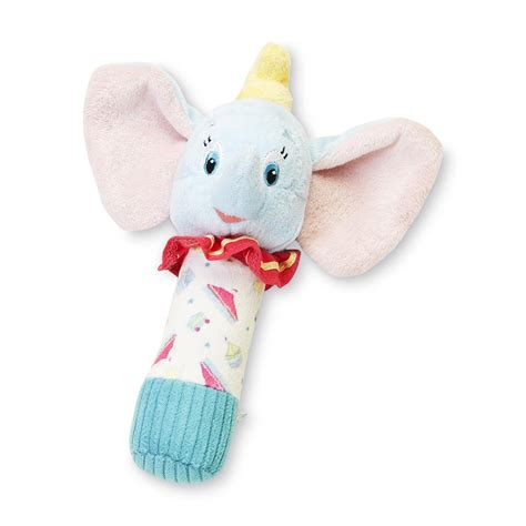 Rattle Stick Animal For Baby disney dumbo infant s plush stick rattle shop your way shopping earn points on tools