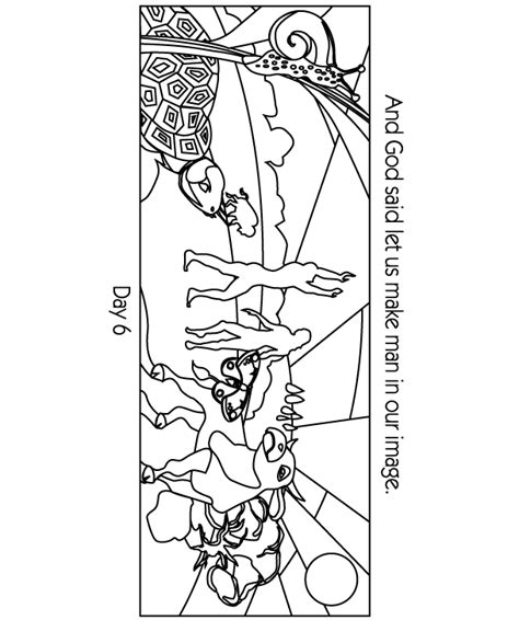 christian coloring pages creation creation story clipart 66