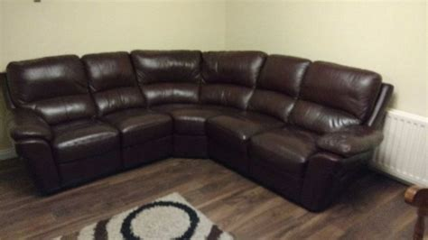 leather recliner suites sale brown leather corner suite recliner for sale in monaghan