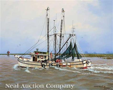 kenricks shrimp boat artworks of james l kendrick iii