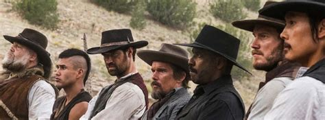 cowboy film remake the magnificent seven 2016 available on dvd blu ray