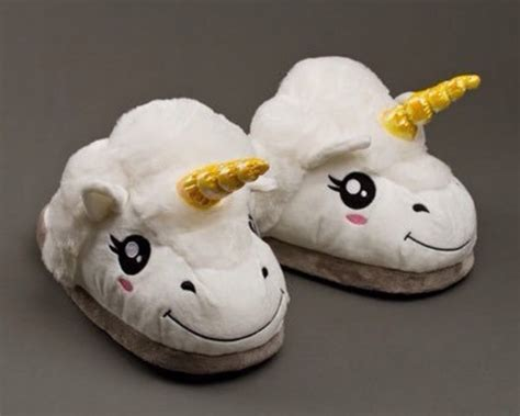 unicorn house slippers coxeer cute unicorn house slippers plush cartoon 3d slip on indoor slippers amazon co uk