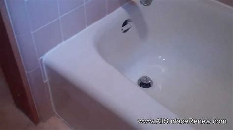 how to change the color of your bathtub changing the color of a pink bathtub youtube