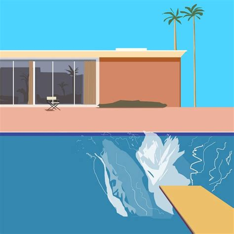 david hockney a bigger splash 1967 the o jays folk and abstract