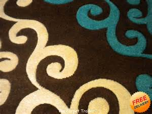 viola 2366k brown turquoise rug available in two