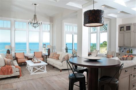 home design living room kitchen island table gorgeous award winning big house with ocean view part 2