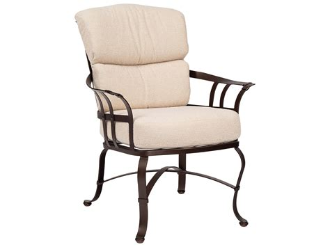 Woodard Patio Furniture Cushions Woodard Atlas Dining Arm Chair Swivel Dining Chair