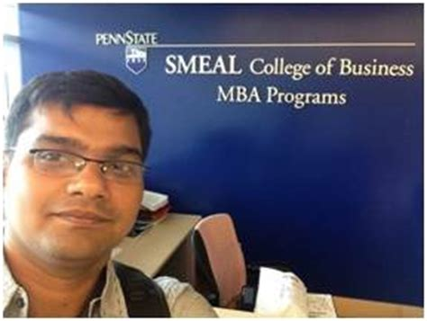 Mba Penn State Smeal by Offer After Internship For Indian Mba Student
