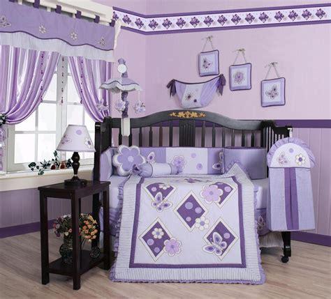 13 Pc Crib Bedding Sets by Lavender Bedding Set Sears