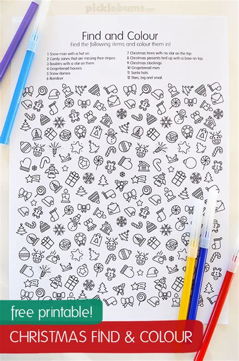 colorful an coloring book for the holidays books free printable find and colour activity picklebums