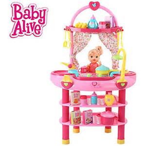 Kmart Kitchen Furniture hauck toys baby alive doll cook n care playset blue