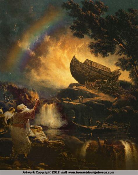 noahs ark  howard david johnson  testament art contemporary christian art biblical