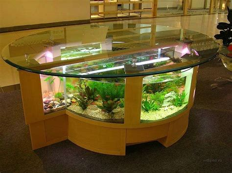 coffee table aquarium stylish home decoration with unique fish tanks ergonomic