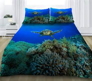 Sea Turtle Bedding Sea Turtle Bedding Set Sea Turtle Print Duvet Cover By