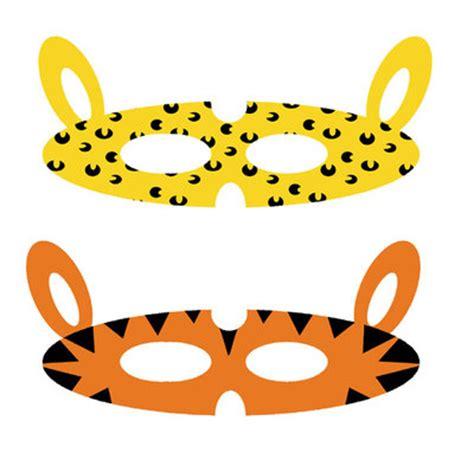 printable jungle mask printable jungle animal masks my kid craft