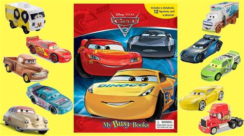My Busy Book Disney Cars cars 3 my busy books story and figurine set at