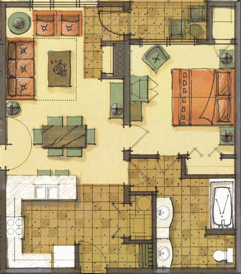 buying a 1 bedroom condo room types floor plans at morning star lodge at silver