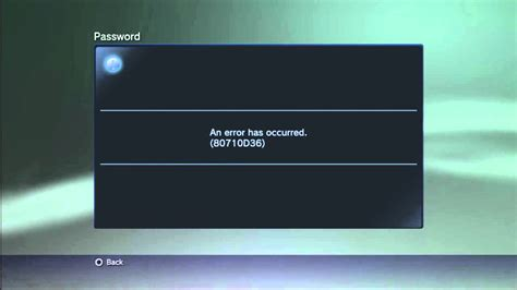 reset playstation online password can t sign in ps3 error code 80710d36 can t change ps3