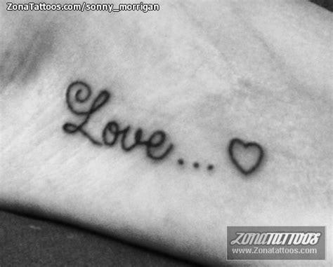 imagenes tatuajes love tatuaje de letras love
