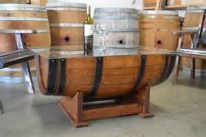 Wine Barrel Coffee Table Wine Barrel Coffee Table Glass Top Cork Storage By Beyondabarrel