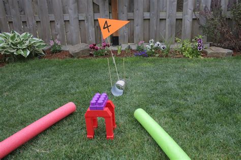 make home homemade mini golf course ideas www pixshark com
