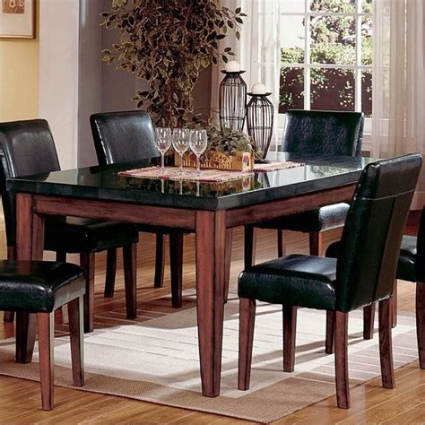 steve silver company bello granite casual dining table