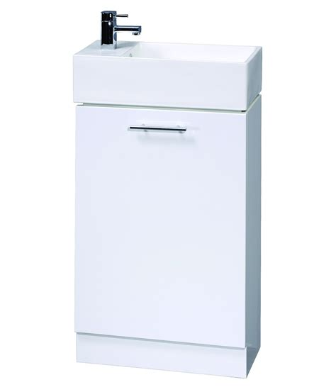 Small Bathroom Vanity Units Aqva New Small Bathroom Vanity Unit 475mm Vty058